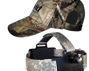 Head Cam strap and hat
