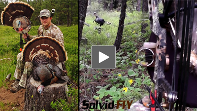 head camera Archery turkey bow hunting