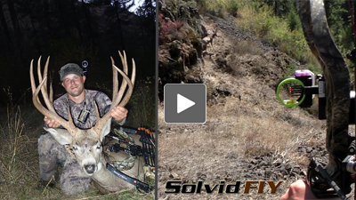head camera Archery mule deer bow hunting